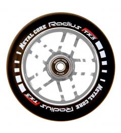 Kolečko Metal Core Radius 120mm kolečko stříbrné