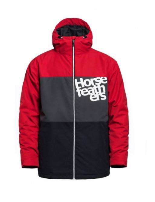 Bunda Horsefeathers Hale red 2020/21 vell.XS