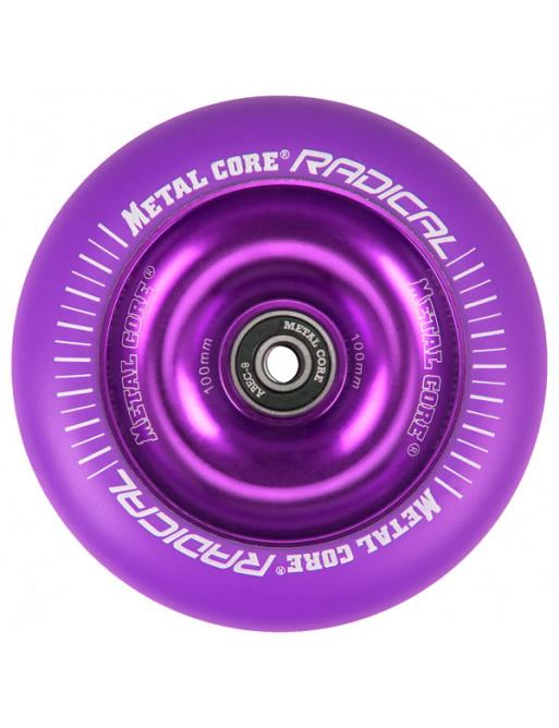 Metal Core Radical Fluorescent 110 mm kolečko fialové