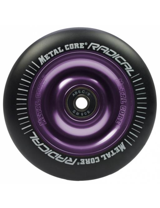 Metal Core Radical 100 mm kolečko černo fialové