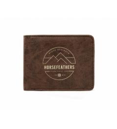 Peněženka Horsefeathers Cain brown 2020