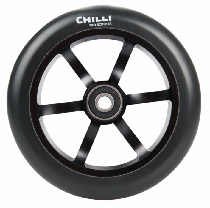 Chilli 6 spoked 120 mm Rolle