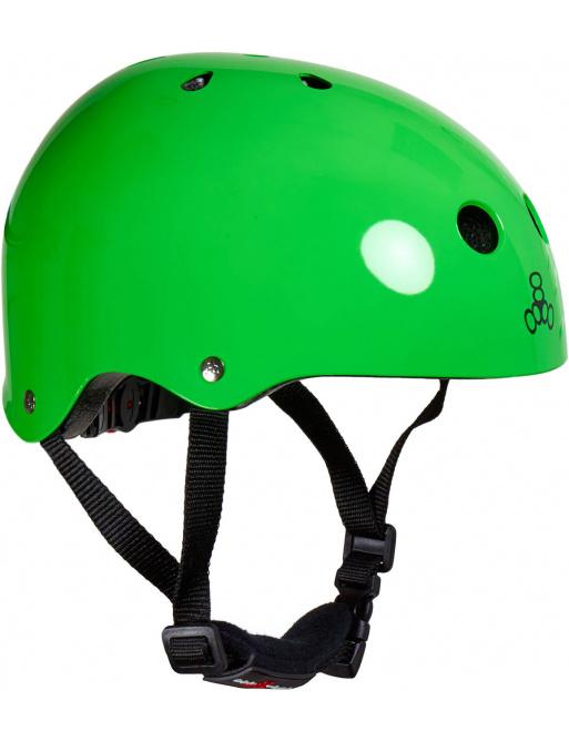 Dětská helma Triple Eight Lil 8 Pro zelená