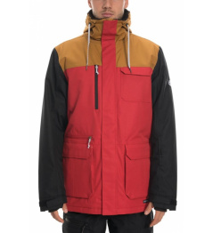 Bunda 686 Sixer Insulated red clrblk 2019/20 vell.L