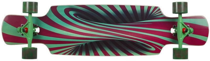 Longboard Choke Trick Lollipop Pro Dropthrough