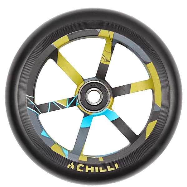 Chilli 6 Spoked Urban Jungle 120 mm Rolle