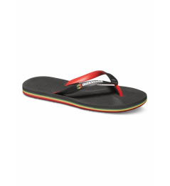 Žabky Quiksilver Haleiwa Deluxe 067 xkrg black/red/green 2015 vell.US9