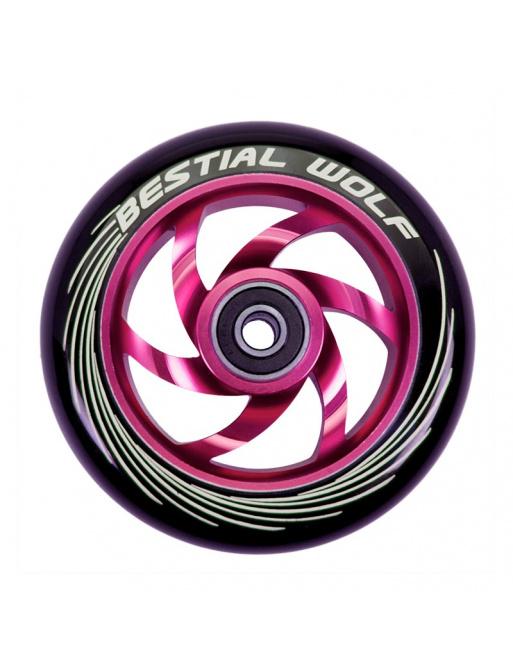 Kolečko Bestial Wolf Twister 110mm růžové