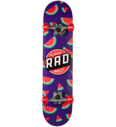 "Skateboard RAD Dude Crew 7.5"" Watermelon"