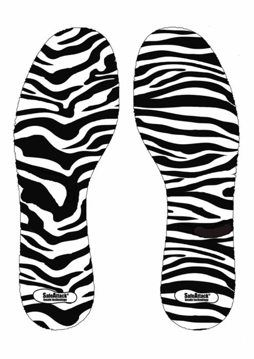 SafeAttack Zebra Insole