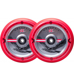 Kolečka Striker Bgseakk Magnetit 110mm Červená