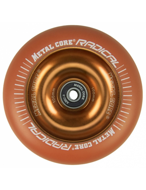 Metal Core Radical Fluorescent 110 mm kolečko oranžové