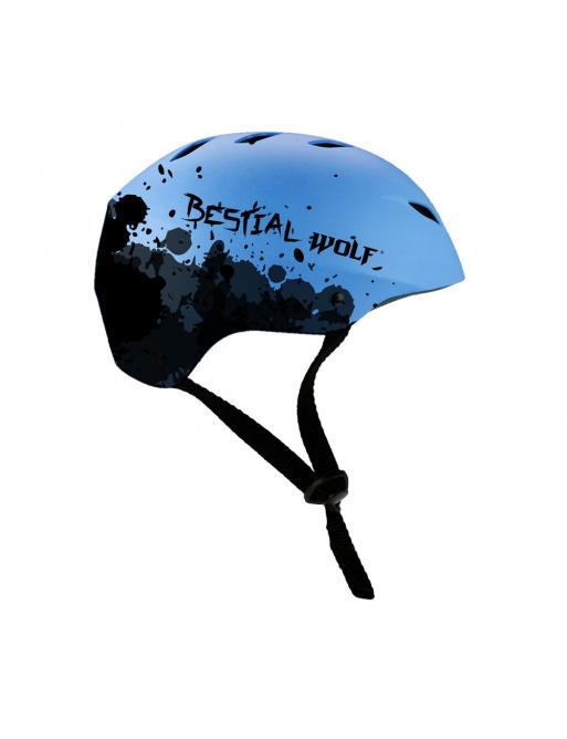 Helma Bestial Wolf Shell modrá