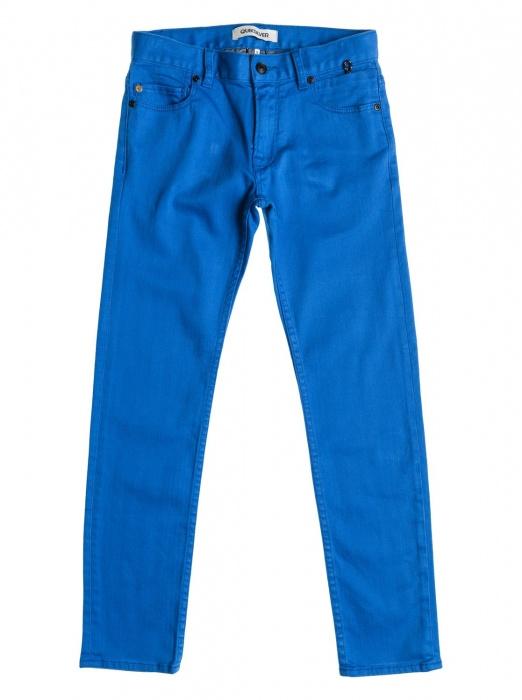 Kalhoty Quiksilver Distorsion Colors Aw 023 bqz0 olympian blue 2015 dětské vell.28/14let