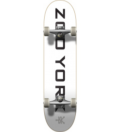 "Skateboard Zoo York Logo Block 7.75"" Bílá"