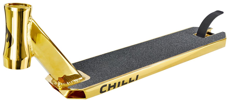 Chilli Reaper Gold Plate 50 cm + Free Griptape