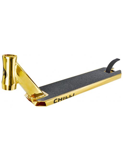 Chilli Reaper deska zlatá 50 cm + griptape zdarma