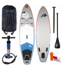 Paddleboard F2 Pirate 9'2''x28''x4'' White/Grey 2019