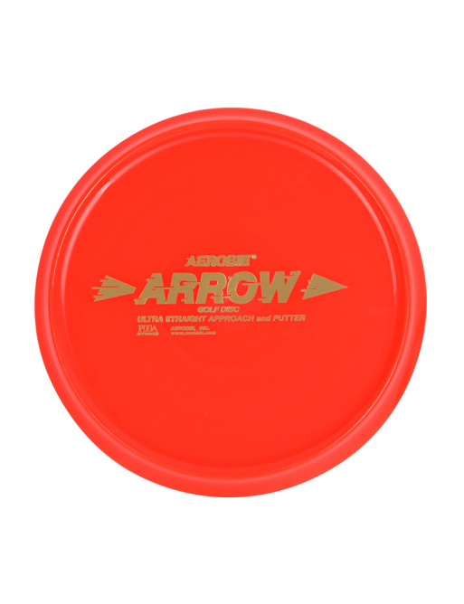 ARROW Aerobie Flying Red Disc Golf Disc