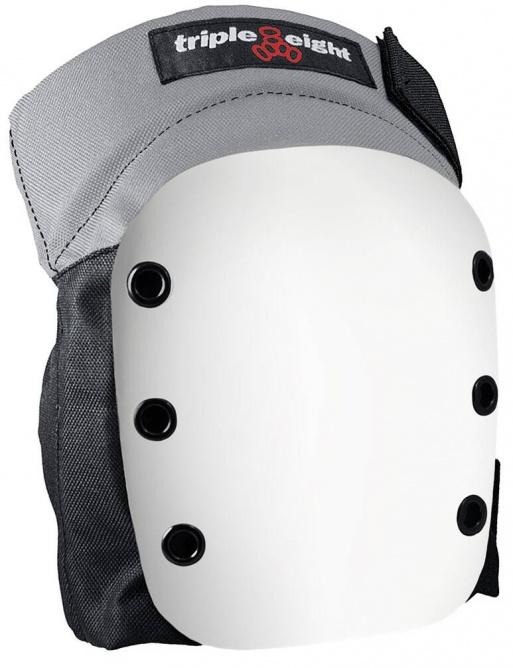 Chrániče Triple Eight Street Skate Knee Pads M Black/White