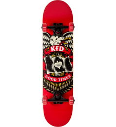 "Skateboard KFD Young Gunz 7.5"" Badge"