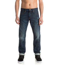 Jeansy Quiksilver Revolver 235 bncw agy blue 2016/17 vell.32/32