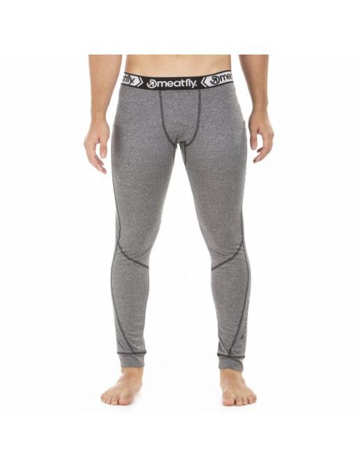 Termo kalhoty Meatfly Danny Termo Pants A - Grey Melange 2018/19 vell.M