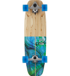 "Surfskate Flow Wedge 32"" Blue"