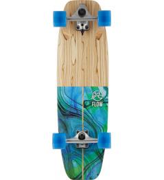 """Surfskate Flow Wedge 32"""" Blue"""