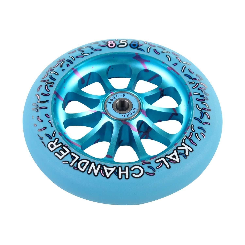 Ride 858 Kal Chandler 120 mm blue wheel
