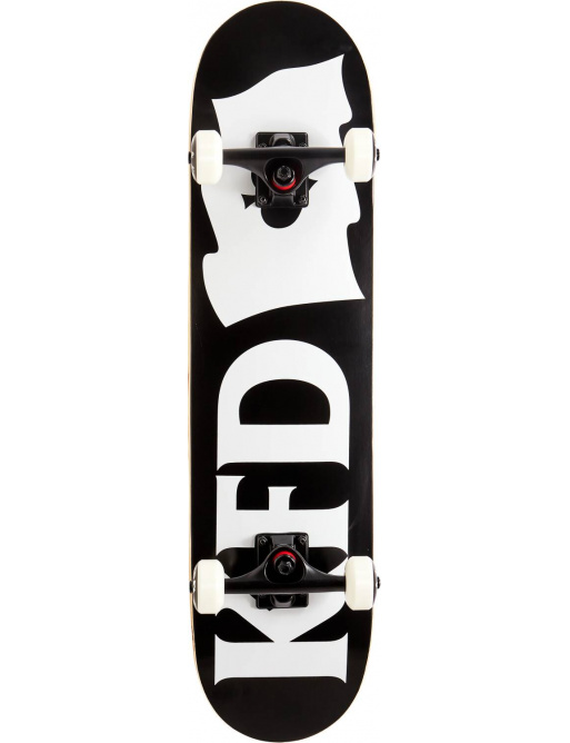 "Skateboard KFD Young Gunz Set 7.75 ""Flagship Black"