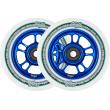 North Wagon Wheels 110mm Blue 2pcs