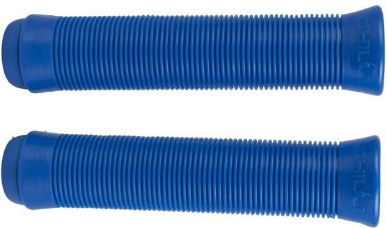 Puños de color azul chilli
