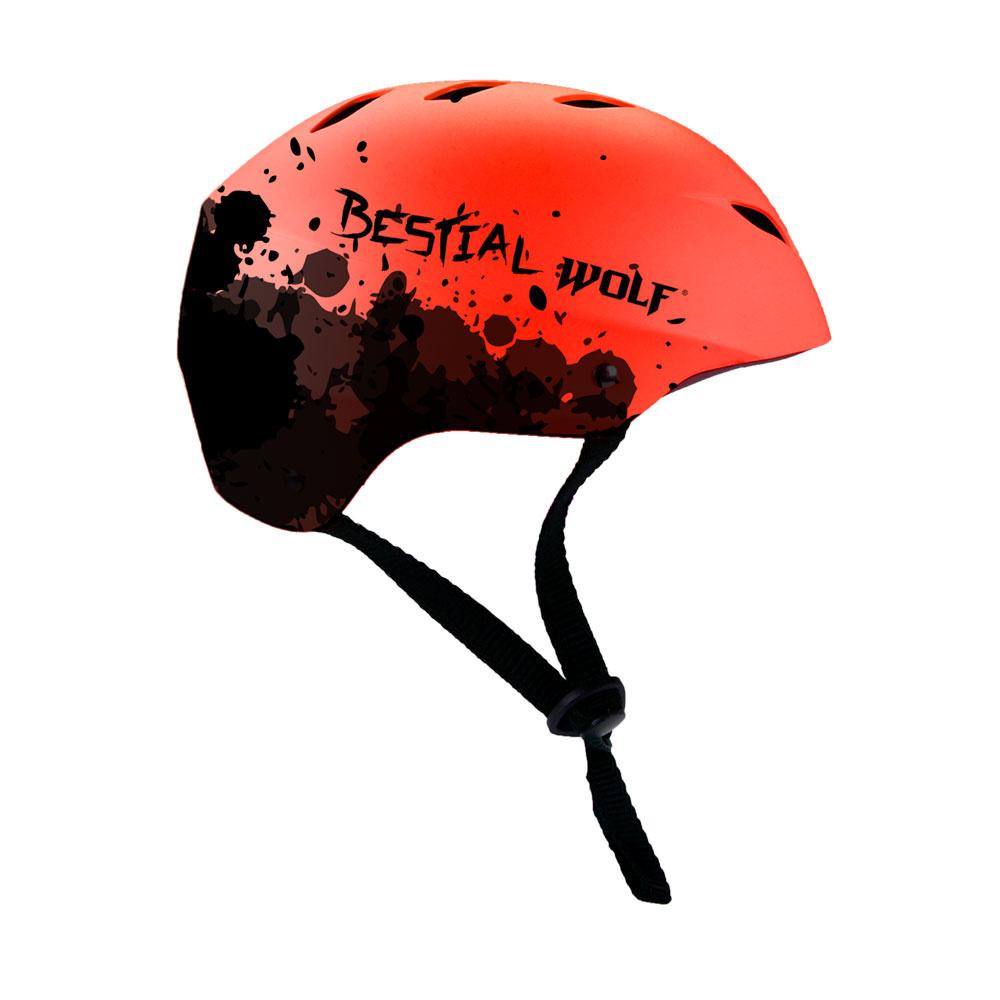 Helma Bestial Wolf Shell červená