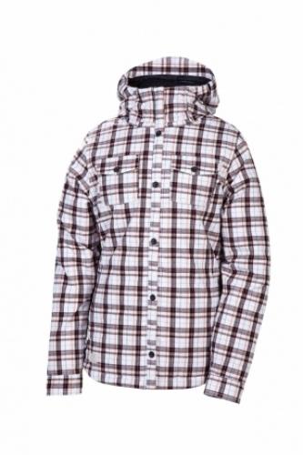 Jacket 686 Reserved Tonic white flannel 2012/2013 dámská vell.M