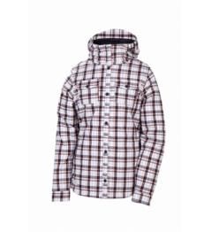 Chaqueta 686 Reserved Tonic flanel blanco 2012/2013 vell mujer. M