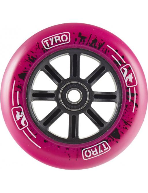 Kolečko Longway Tyro Nylon Core 100mm růžové