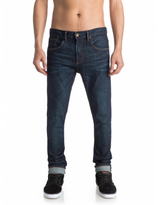 Jeansy Quiksilver Low Bridge 237 btnw icy blue 2016/17 vell.34/32