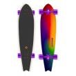 "Longboard Street Surfing FISHTAIL 42"" Sunset Blur ´16"