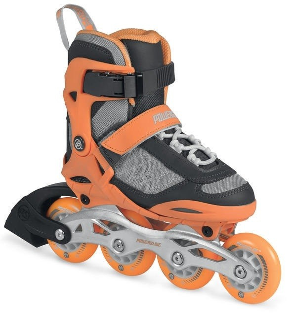Children's roller skates Powerslide Phuzion Galaxy Neon Orange
