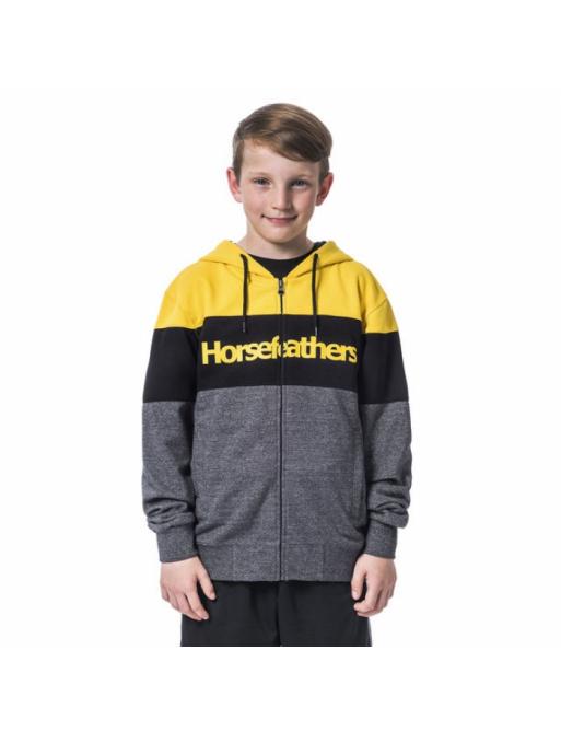 Mikina Horsefeathers Trevor lemon 2020 dětská vell.L