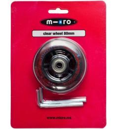 Kolečko Micro 80 mm Clear