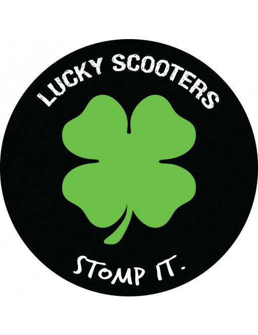 Samolepka Lucky Stomp It
