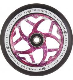 Kolečko Striker Essence V3 Black 110mm Purple Galaxy