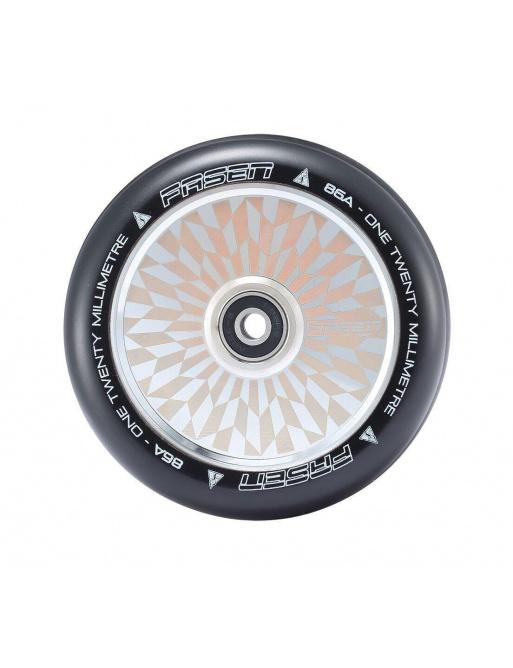 Kolečko Fasen 120mm Hypno offset stříbrné
