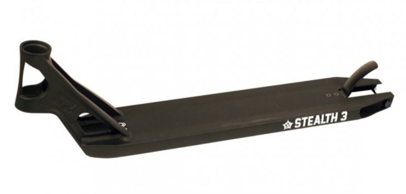 AO Stealth 3 black plate 575 mm + griptape for free