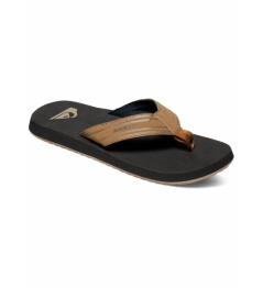 Žabky Quiksilver Monkey Wrench brown/black/brown 2019 vell.EUR43