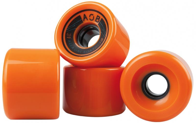AOB Räder 4 Stück orange