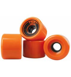AOB kolečka 4 ks oranžová