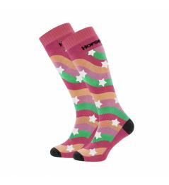 Ponožky Horsefeathers Kris raspberry 2020/21 vell.5-6